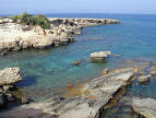 Rocky Cove at Fig Tree Bay in Protaras