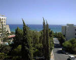 View of the sea in Limassol, Cyprus