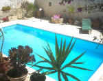 The Nest in Ayia Anna has it's own private pool and is only a 30 minute drive to the nearest beach in Larnaca.