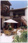 Palati has a delightful courtyard where you can enjoy your meals al-fresco. - click to enlarge