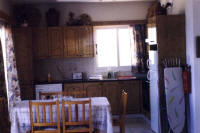 Villa Pomos on the west coast of Cyprus for holiday rentals in the sun - the kitchen