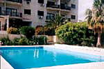 San Carlo Apts Swimming pool in Limassol,Cyprus
